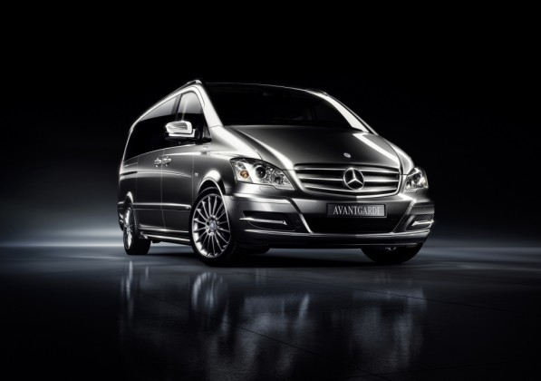 mercedes benz vito avantguard 597x420 The new Mercedes Benz Viano Avantgarde Edition 125