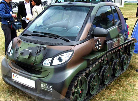smart fortwo mini tank A Smart Fortwo Tank