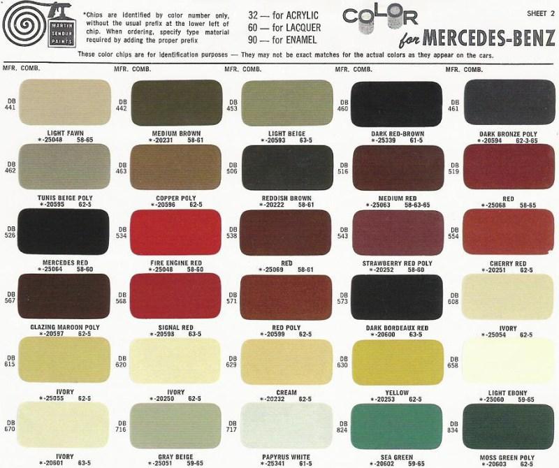 Mercedes Benz Interior Color Codes Billingsblessingbags