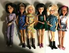 Lot of 6 Spin Master Articulated Liv Dolls with 6 Wigs 2009
