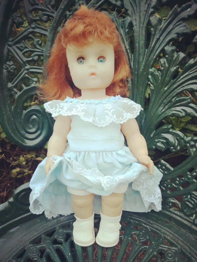 Vintage  Doll made in England with Cinderella Shoes