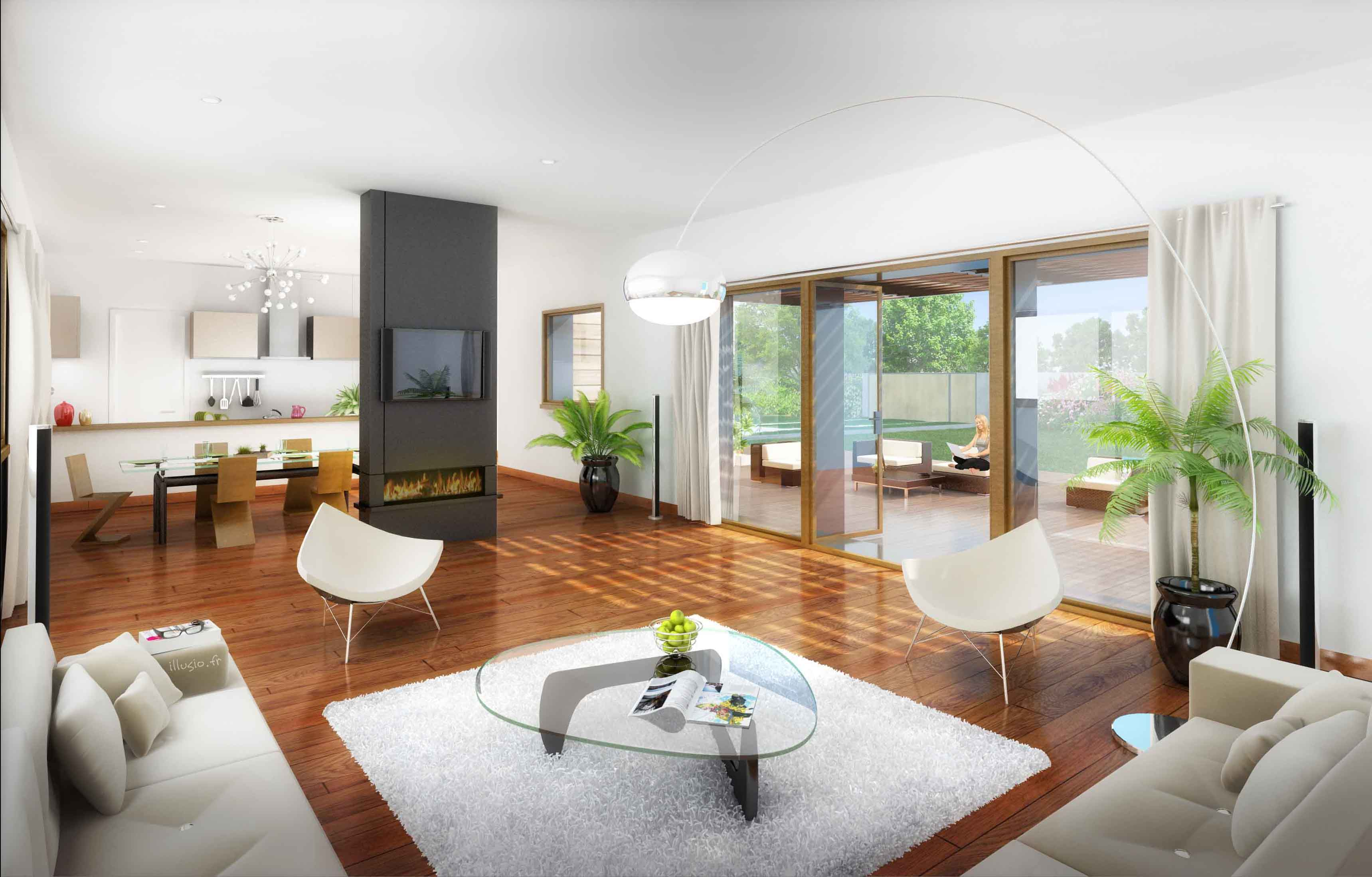 Interieur Maison Design Moderne Mc Immo