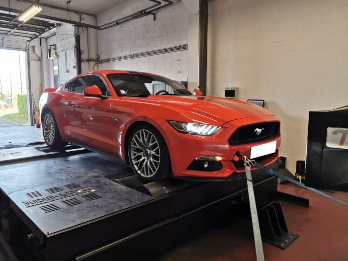 Ford Mustang GT 5.0 Conversion E85