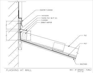 18---Flashing-at-Wall-Detail