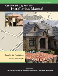 Download TRI Tile Roofing Institute Clay Roof Tile Installation Manual