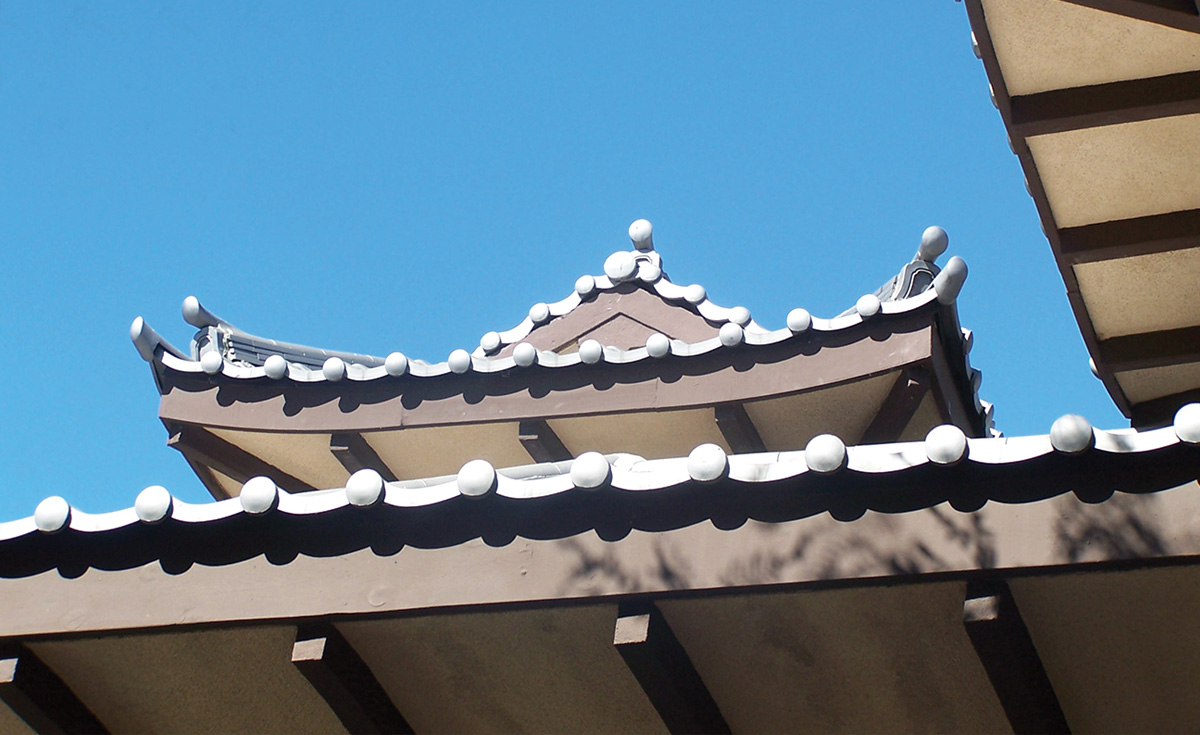 Roof Detail, Long Beach, CA