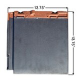 MF108 Interlocking Flat Tile Spec Photo
