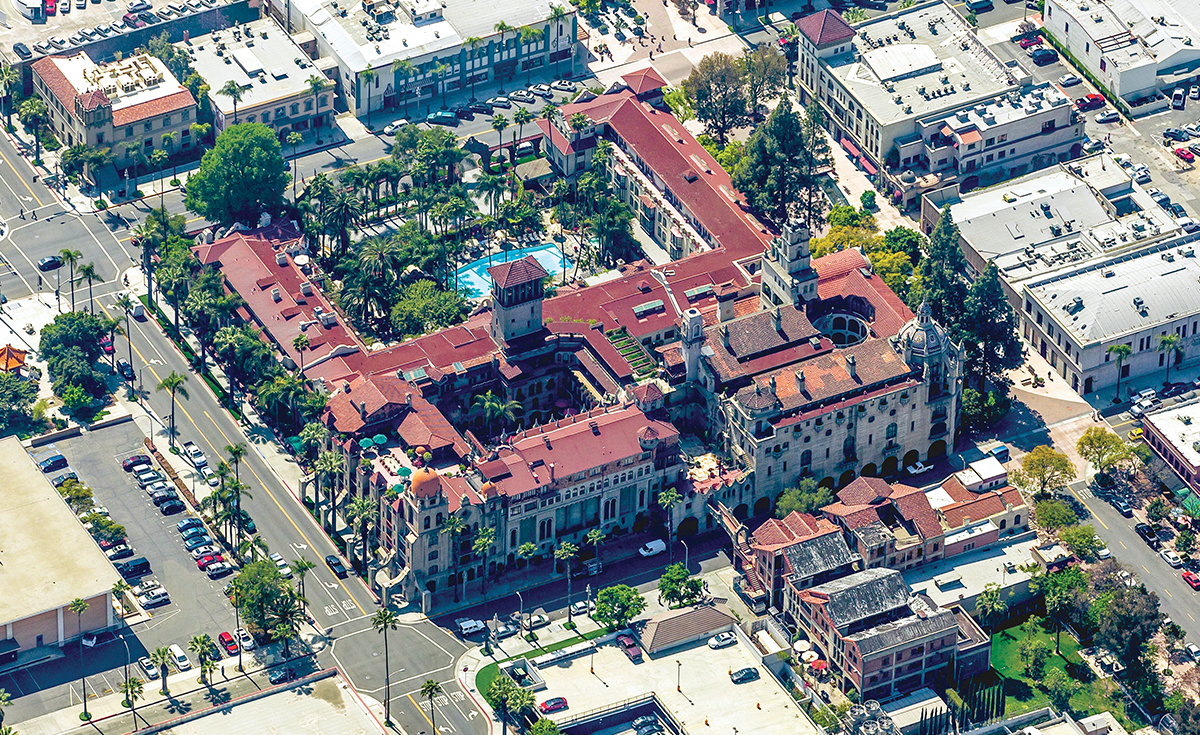 Mission Inn Hotel and Spa historical clay roof tile in Riverside, CA - roof tile to match