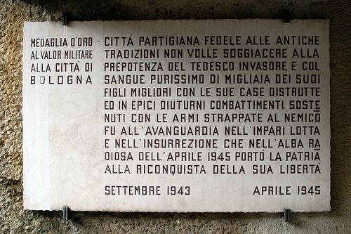 Bologna partigiana