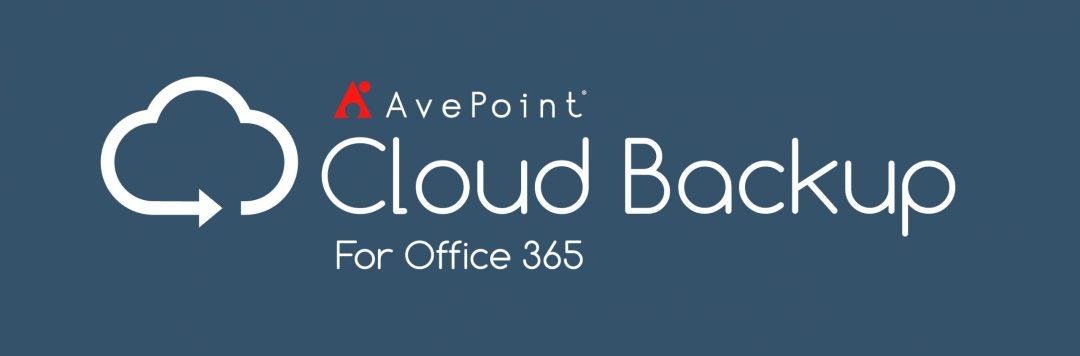 AvePoint Cloud Backup via MCAZ