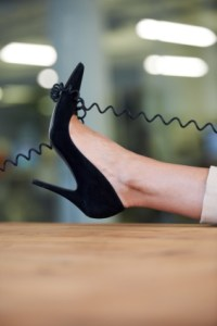 Tangled up in a business conversation