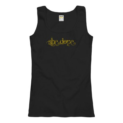 She Dope Semi-Fitted Tank