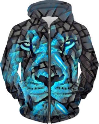 Lion Blues Hoodie