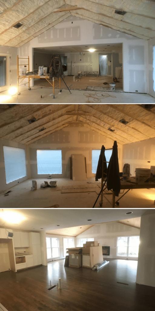 Arrowhead Living Area Before