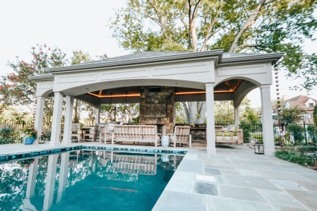 Sequoyah Pool Cabana