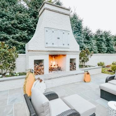 Sequoyah Outdoor Fireplace