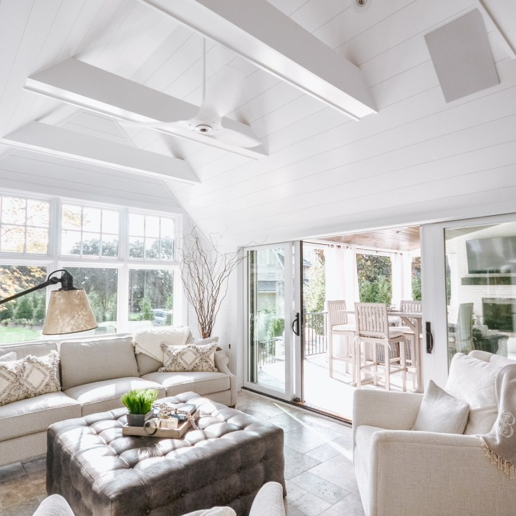 Sunroom + Outdoor Space Addition