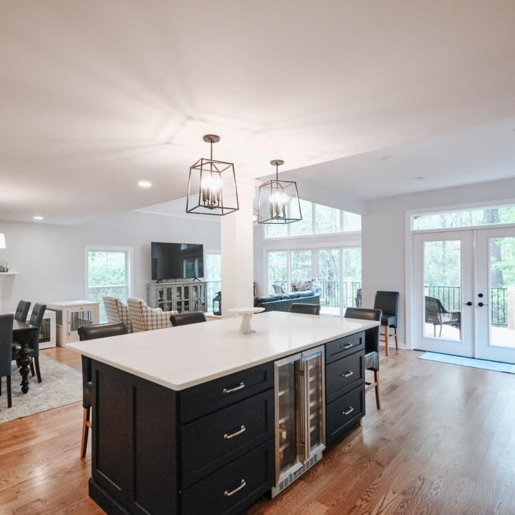 Living Room + Kitchen Addition
