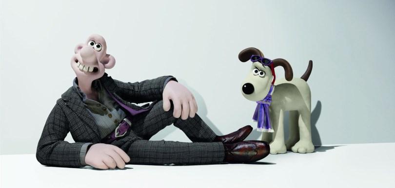 """""""Cracking pose, Gromit!"""""""