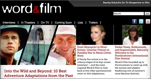 Word and Film Screenshot