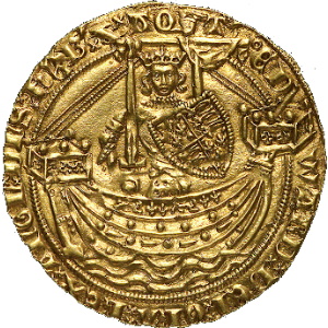 Edward III and Battle of Sluys Coin