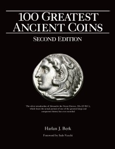 100 Greatest Ancient Coins book cover