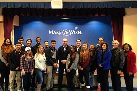 Global Business Club Explores Business Side Of Nonprofit Sector At Make A Wish Foundation