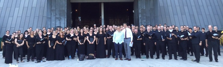 Lord of the Rings chorus 7/25/2015 - Mann Center for the Performing Arts
