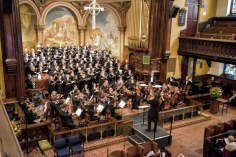 Symphony in C, Mendelssohn Club Choir