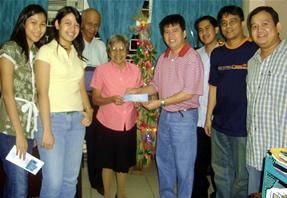 Brandstream Donates Cash Gift