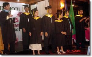 Sir Jojo presents MCCID faculty.
