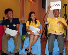 Judges give their verdict on students' presentations