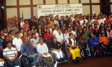 Disability Summit Participants