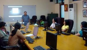 NCDA TCD Asst. Chief Dandy Victa introduces the participants.