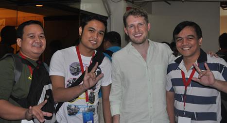 MCCID web designers with Matt Mullenweg.