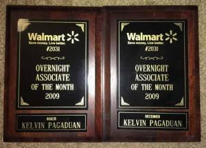 Associate of the Month Award Frames