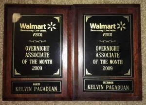 Associate of the Month Award Frames
