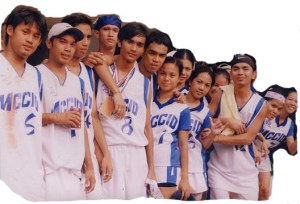 MCCID Volleyball Team during Sports Fest 2006 with Kelvin to the left