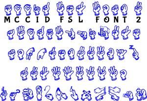 Download MCCID FSL Font Version 2