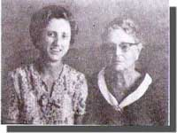 Ma'am Aimee (left) and her mother