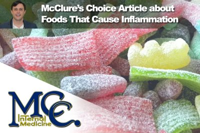 Foods that cause inflammation