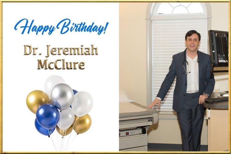 Dr. Jeremiah McCure