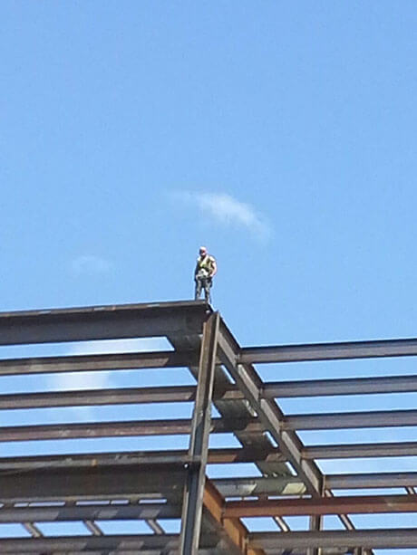 Of all the possible Ironworker Injuries, this one takes the cake