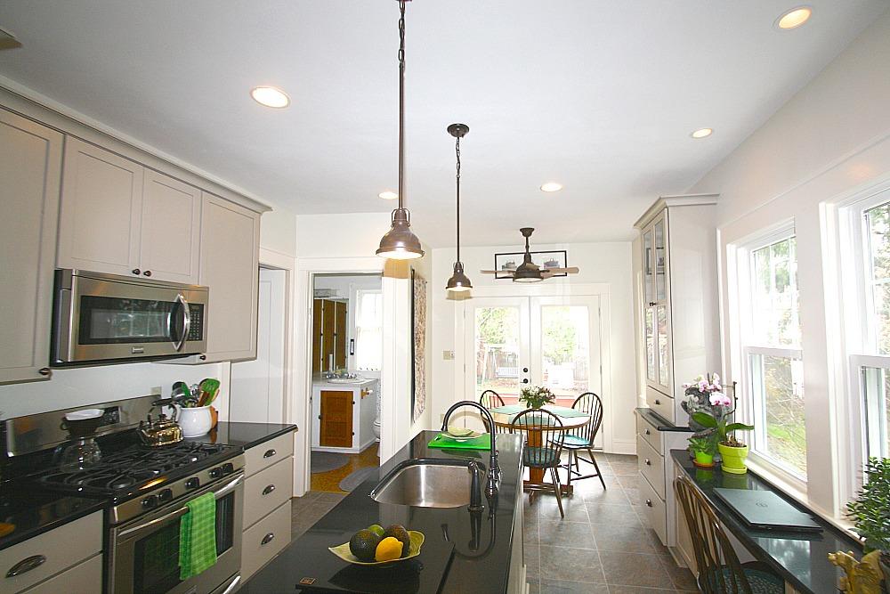 kitchen lighting pendant track led