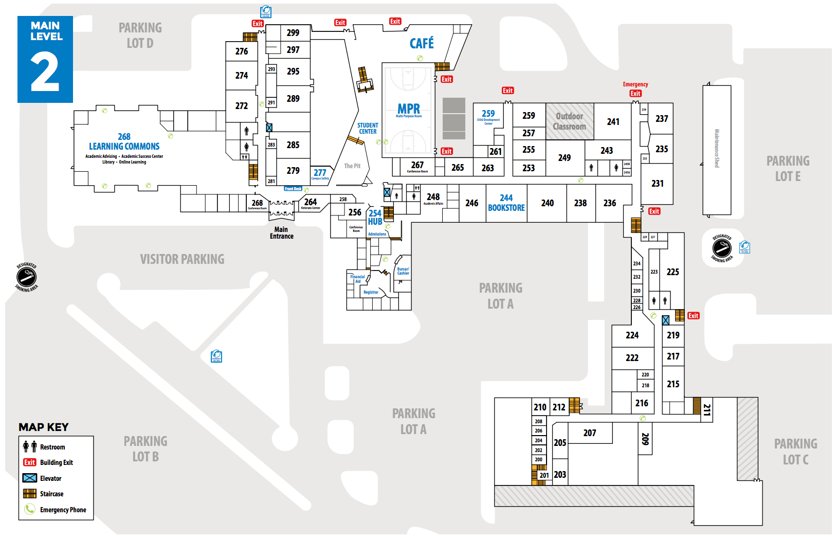 Mclennan Campus Map College Community