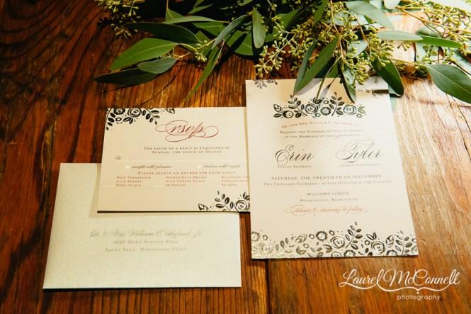 Wreath Wedding Invitation Printed Sunflower Invitations Rustic Country Invites Woodsy