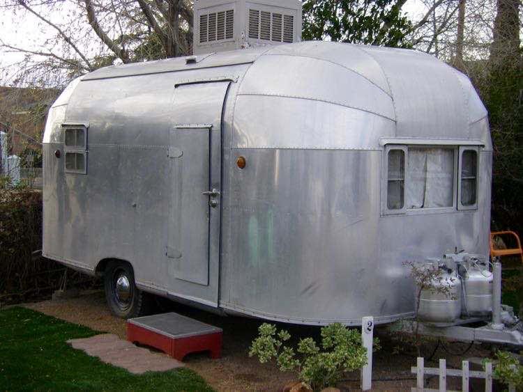 1957 El Rey trailer at The Shady Dell
