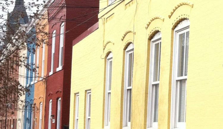 Georgetown DC Row Houses