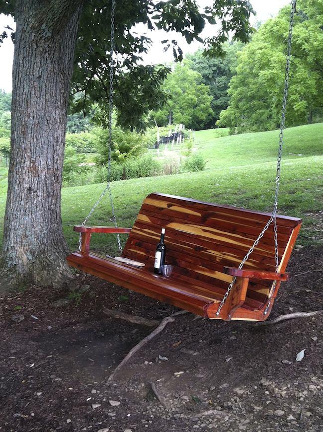 summer foods: Wine and Snacks, Arrington Vineyards, Arrington, TN