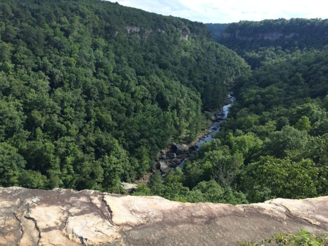 Northeast Alabama Little River Canyon view